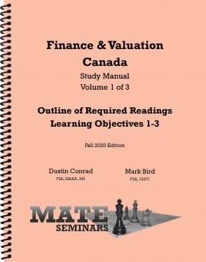 Finance _ Valuation Canada Manual F20
