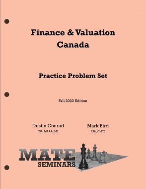 Finance _ Valuation Canada Problems F20