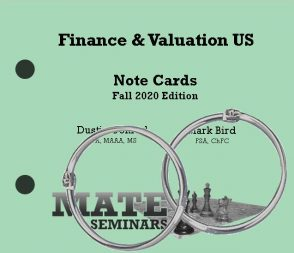 Finance _ Valuation US Cards F20