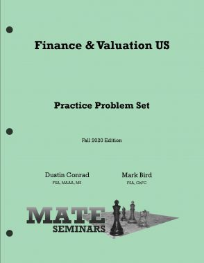 Finance _ Valuation US Problems F20